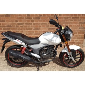 Keeway RKV125 Sport White £1899 + OTR - Pre Registered