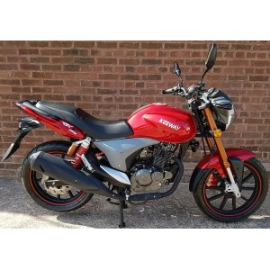 Keeway RKV125 Sport Red £1899 + OTR - Pre Registered