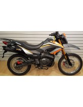 Keeway TX125 Adventure Trail Motorcycle Orange £1899 + OTR - Pre Registered