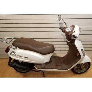 SYM Fiddle 2 50cc Moped White £1699 + OTR - Pre Registered
