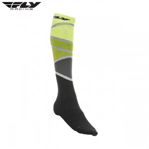 Fly Racing 2018 Thick MX Sock Green/ Black