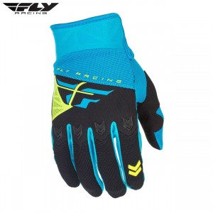 Fly Racing 2018 F-16 Motocross Glove Blue Black