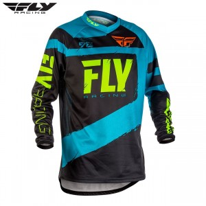Fly Racing 2018 F-16 Motocross Jersey Blue Black