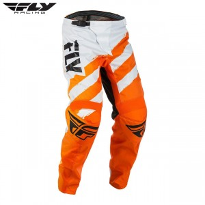 Fly Racing 2018 F-16 Motocross Pant Orange White