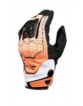 Macna Assault Lightweight Summer Glove Orange/ White/ Black