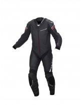 Macna Hyper 1-Piece Leather Race Suit Black