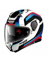 Nolan N87 Arkad Multi Red Blue White Helmet