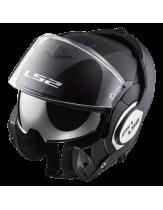 LS2 Valiant Modular Helmet Matt Black