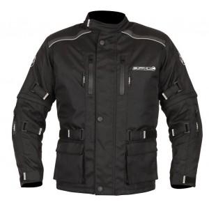 Buffalo Ranger Waterproof Textile Kids Jacket Black