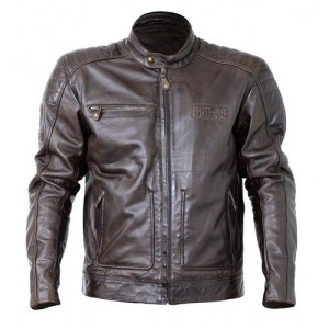 Rst Roadster II Classic Look Leather Jacket Tabacco Brown