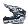 Wulfsport Sceptre Adult Motocross Off Road Helmet Black