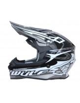 Wulfsport Sceptre Adult Motocross Off Road Helmet Black