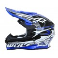Wulfsport Sceptre Adult Motocross Off Road Helmet Blue