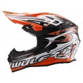 Wulfsport Sceptre Adult Motocross Off Road Helmet Orange