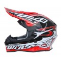 Wulfsport Sceptre Adult Motocross Off Road Helmet Red