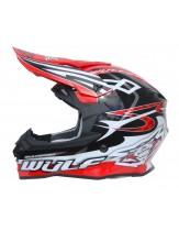 Wulfsport Sceptre Adult Motocross Off Road Helmet Red