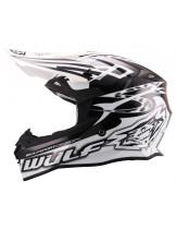 Wulfsport Sceptre Adult Motocross Off Road Helmet White