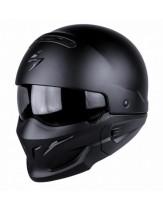 Scorpion Exo Combat Street Fight Helmet Matt Black