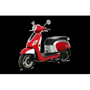 Sym Fiddle III 125cc Moped Red & Silver £2199+OTR