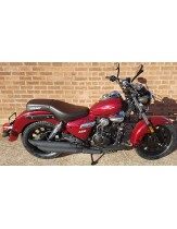 Keeway Superlight 125 Motorcycle - Gloss Red £2099+OTR