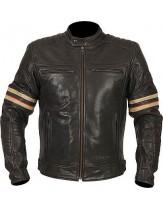 Weise Detroit Classic Leather Jacket Black