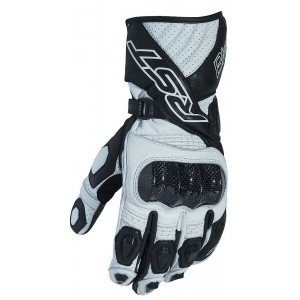 RST Blade II CE Approved Vented Motorcycle Glove White