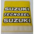 Tecnosel Suzuki Clean Grips Yellow
