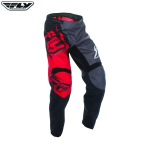 Fly Racing 2017 F-16 Motocross Race Pants Red Black
