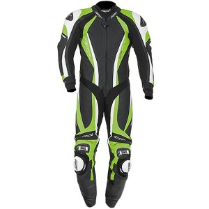 RST Pro Series CPX Carbon 1 Piece Leather Motorcycle Suit Green