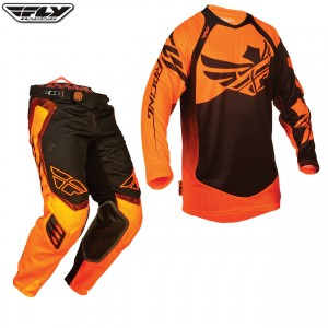 Fly Racing Evolution MX Kit Orange Black