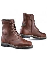 TCX Hero Leather Waterproof Retro Motorcycle Boots Brown