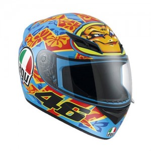 AGV K3 Rossi Mugello Helmet Blue/Orange/Yellow *LAST ONE*