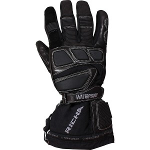 Richa Carbon Winter Waterproof Motorcycle Gloves Black