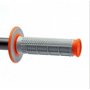 Renthal Dual Layer Orange / Grey Grips