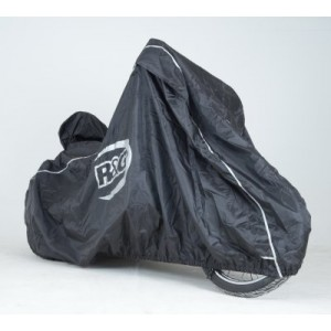 R&G Racing Cruiser Outdoor Black Waterproof Motorcycle Cover
