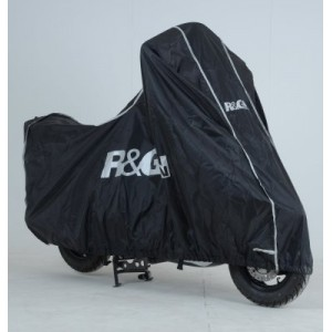 R&G Racing Scooter Outdoor black Waterproof motorcycle cover