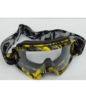 be1835d928 Oakley O-Frame XS Kids Motocross Goggles - Digi Slash Yellow Black