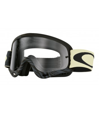 Oakley O-Frame Motocross Goggles - Animalistic Matt Black Grey