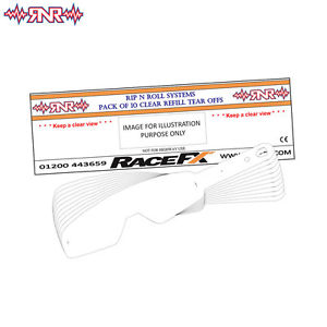 Oakley 99 & L Frame Pattern Tear Offs 10 Pack