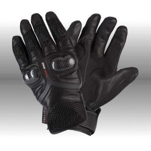 Rayven Air Pro Motorcycle Gloves - Black