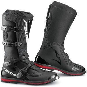 Falco Dust LS Motocross Enduro Boot Black