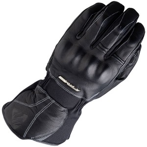 Five WFX Skin Winter Waterproof Leather Motorcycle Glove Black