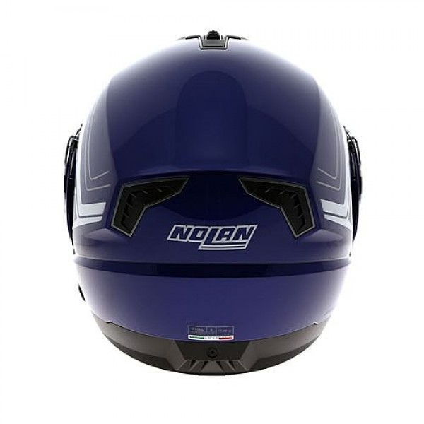 nolan n104 absolute como cayman blue flip front helmet. Black Bedroom Furniture Sets. Home Design Ideas