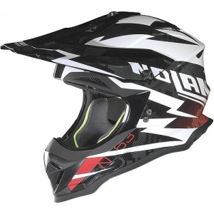 Nolan N53 Black White MX Helmet