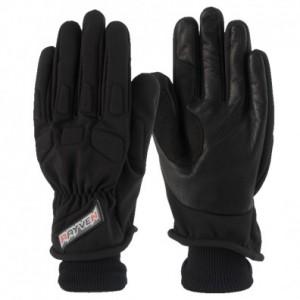 Rayven Argon Winter Textile Motorcycle Glove Black