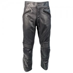 Richa Cafe Leather Trouser Black