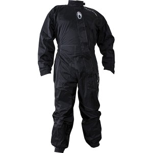Richa Typhoon One Piece Motorcycle Waterproof Over Suit - Black
