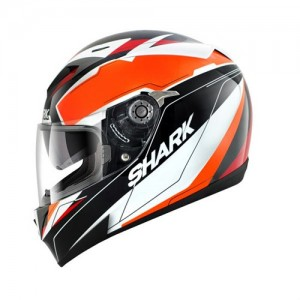 Shark S700 Lab Helmet Orange White