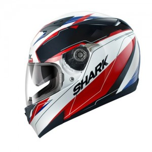 Shark S700 Lab Helmet Red White