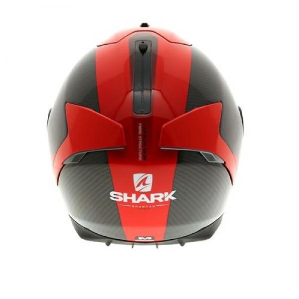 shark spartan helmet carbon skin red. Black Bedroom Furniture Sets. Home Design Ideas